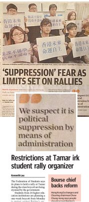 SCMP-Suppression
