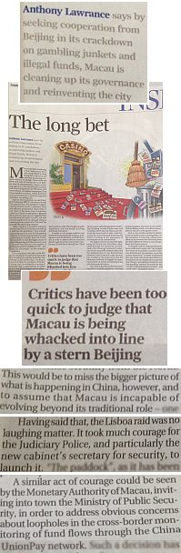 SCMP-The Long Bet